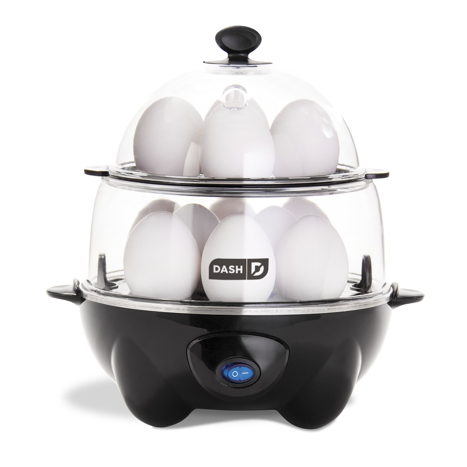 kitchen accessories - Dash DEC012BK Deluxe Rapid Egg Cooker Electric