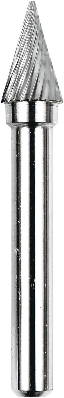 Dedeco 12919 Carbide Bur 28 degree Cone 1//4 x 3//8 x 5//8 SM-4 Single-Cut