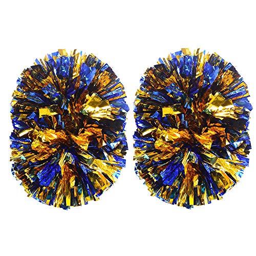 MOLPE Cheerleader pom poms (Blue/Gold)