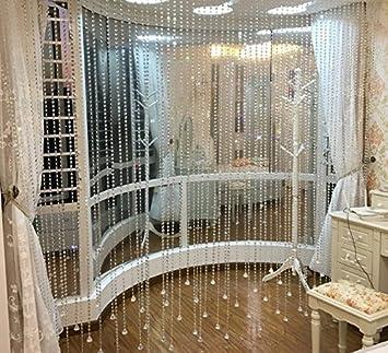 Fushing 10 Piezas 305mm De Ornamento De Hilos De Colgantes Cristales Octagonales Para Guirnaldas De /Árboles De Decoraci/ón De La Boda De Navidad