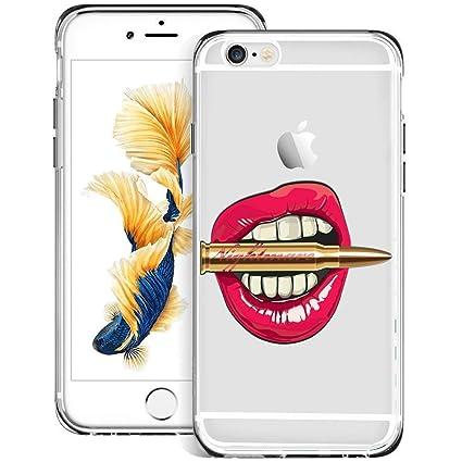 Amazon.com: Carcasa para iPhone 6S, 6 Flamingo, ChyFS ...