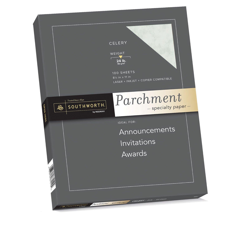 Amazon Com Southworth Parchment Specialty Paper 8 5 X 11 24 Lb