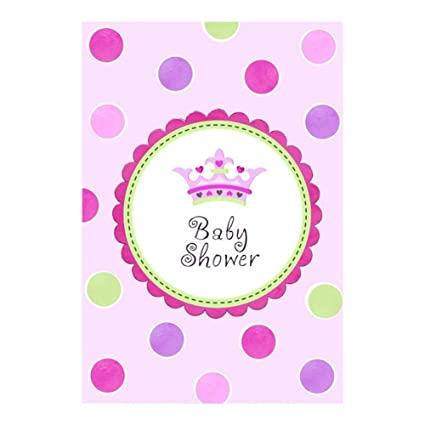 Amazoncom Little Princess Baby Shower Invitations With Envelopes