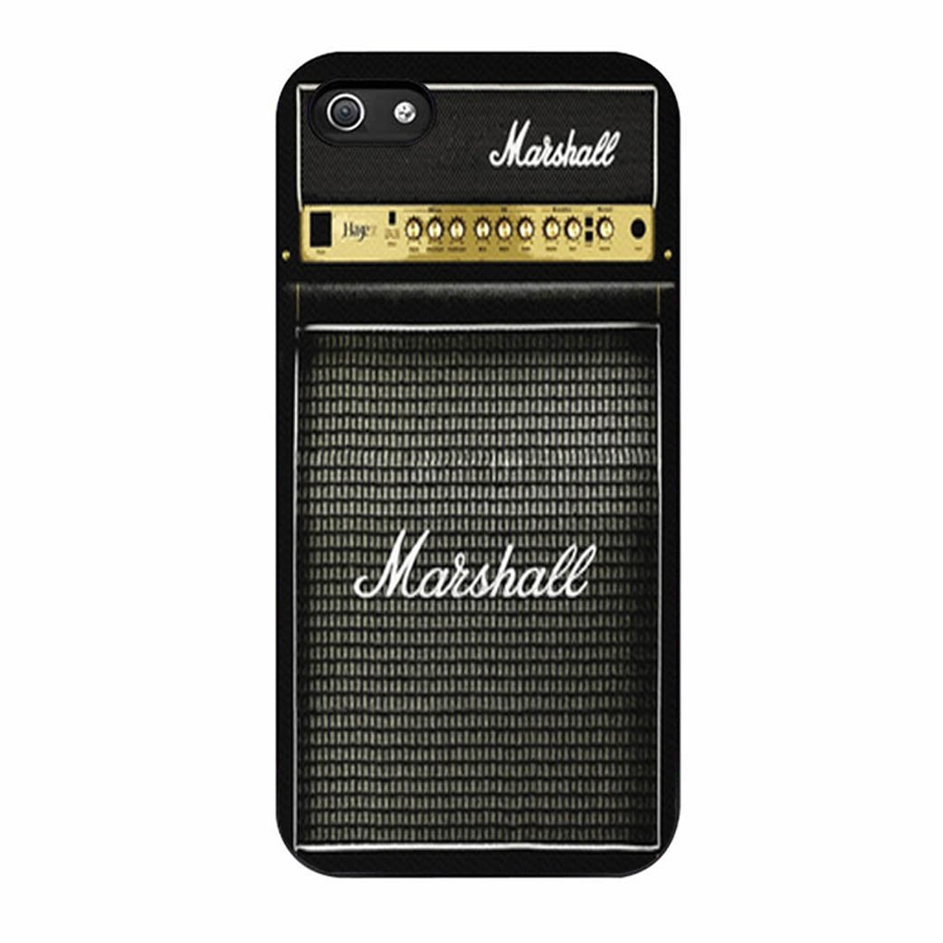 Guitar electric amp amplifier Iphone 5 5s Case Cover Black Plastic