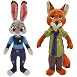 Disney Judy Hoops and Nick Wilde Exclusive Plush Set