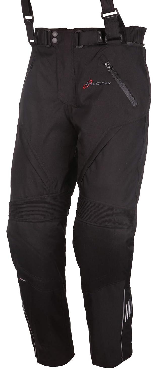 wasserdicht Motowear Motorradkombi P2 Textil atmungsaktiv schwarz XL