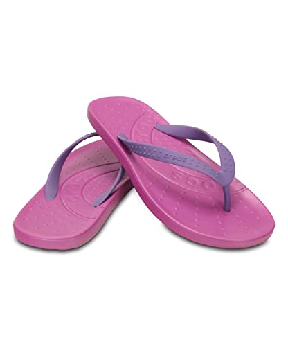 4ac99ad92315 Image Unavailable. Image not available for. Color  Crocs Chawaii Flip  Unisex Flip-Flop Relaxed fit ...