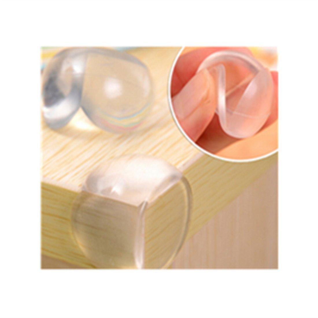 Eckenschutz, Befaith Baby Safety Proofing Pflege Ecken 12 Stück Clear Soft Guards Kleinkind Safe Protector