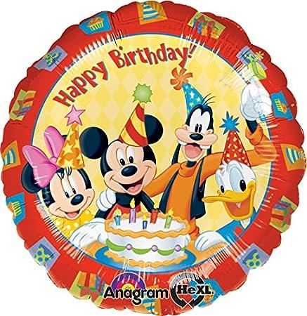Amazon.com: Anagram Internacional Mickey y amigos CUMPLEAÑOS ...