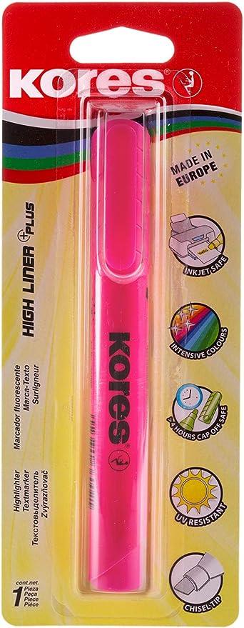 Blister Fluorescente Plus TEXT LINER Rosa
