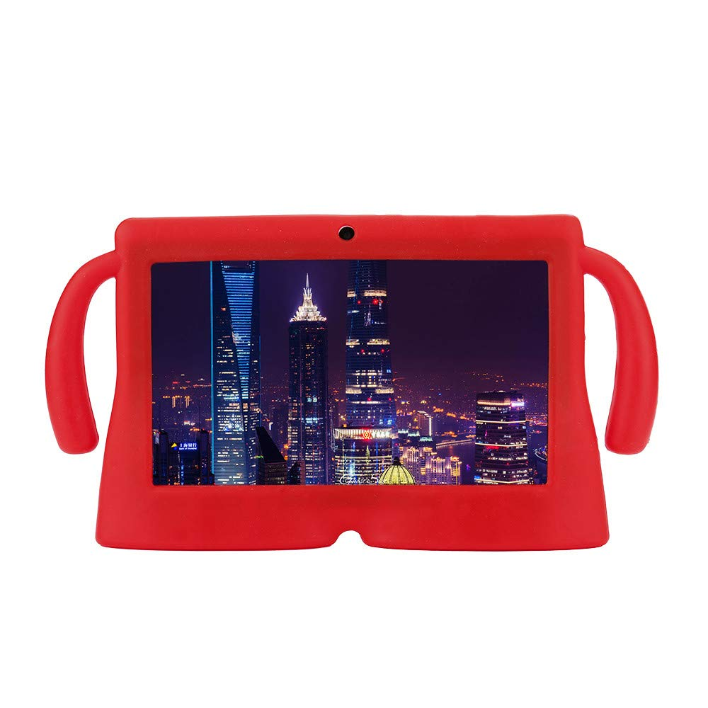 For 7 Inch Android Tablet Q88 Universal Silicone Case Cover Gel Protective Back Cover for 7'' Android Tablet Q88 (Hot Pink) Artistic9