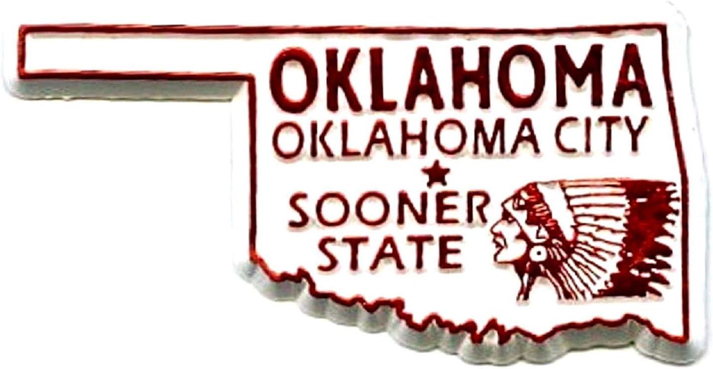 Classic Oklahoma Oklahoma City Fridge Magnet