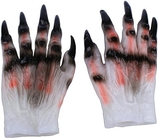 yuting 1 Pair guantes de Halloween cosplay látex terror de ...