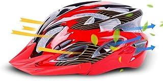 Cobnhdu Nouveaux hommes et femmes casque casque d'équitation casque de sport en plein air ultra léger d'une seule pièce casque vélo de montagne vélo de route casque d'équitation en plein air équitatio