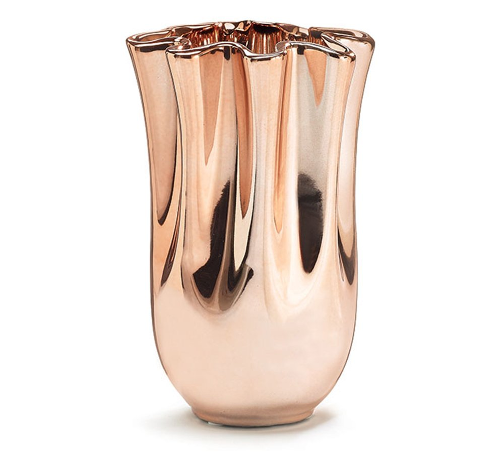 Amazon burton burton beautiful vase with rose gold color amazon burton burton beautiful vase with rose gold color finish a design favorite home kitchen reviewsmspy