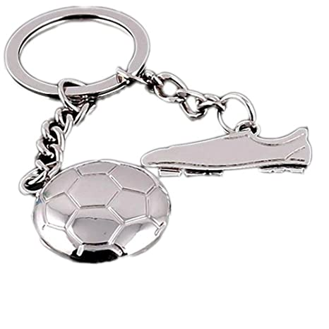 Kanggest 1 Piezas Llaveros de Coche Fútbol Zapatos Forma ...