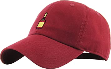 32922e558bf KBSV-038 BUR Henny Bottle Dad Hat Baseball Cap Polo Style Adjustable ...