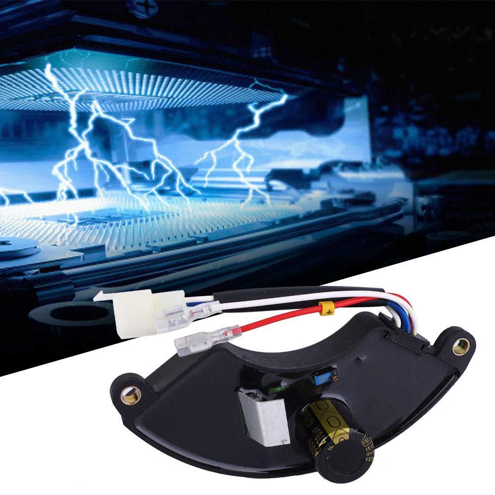 Regolatore Automatico di Tensione AVR a 400V 470/μF a forma di Arco per 5000W 168F Generatore Elettrico a Benzina Nero Classe di efficienza energetica A+++