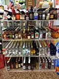 Commercial Retail Display for Mini Sampler 50ml Liquor Shot Airplane Bottles Nips Also Any Other Point of Sale Items