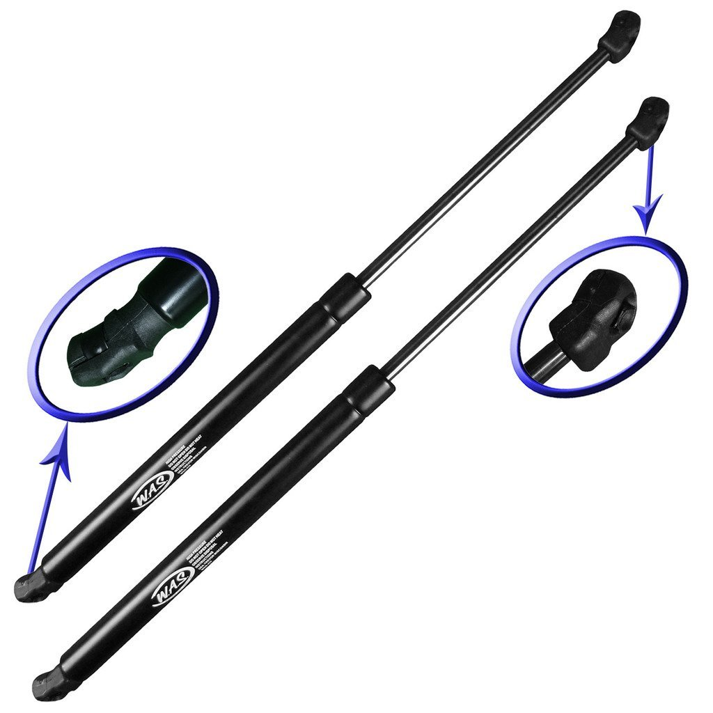 Two Rear Hatch Gas Charged Lift Supports for 2008-2014 Nissan Murano SUV Without Power Hatch. Left and Right Side. WGS-564-2 Wisconsin Auto Supply