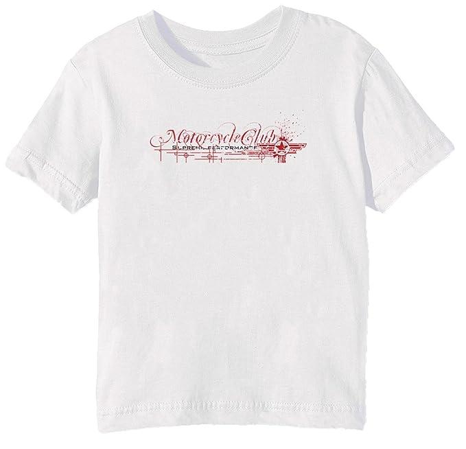 Supreme Performance Niños Unisexo Niño Niña Camiseta Cuello Redondo Blanco Manga Corta Tamaño L Kids Unisex