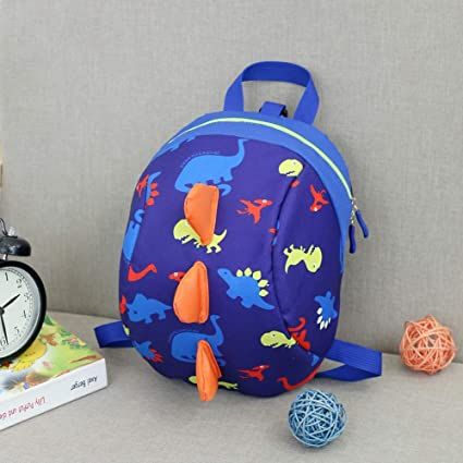 Jewh New Anti-Lost Kids Bags Backpack Cartoon Animal Printing Children Backpacks for Boy Girls