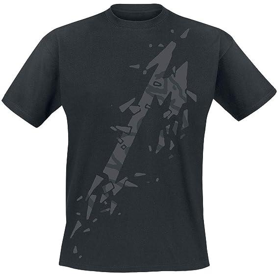 Shirt Courtes Black Noir Album Générique T Manches M Metallica wqXqgCH