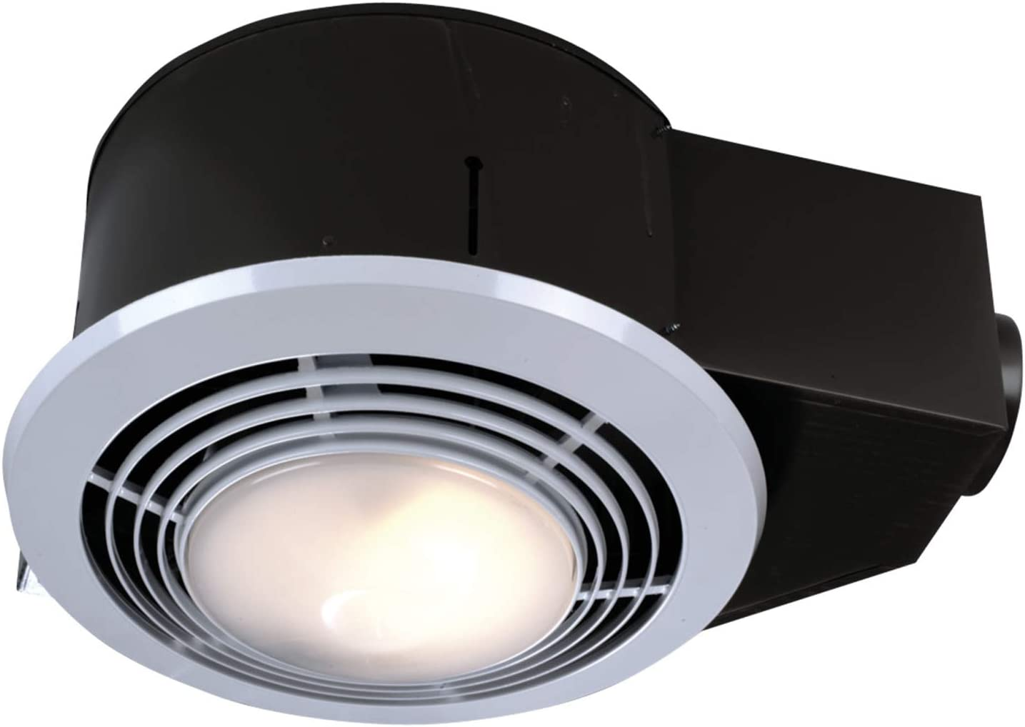 Broan Nutone Qt9093wh Heater Fan And Light Combo For Bathroom And Home 4 0 Sones 1500 Watt Heater And 100 Watt Light 110 Cfm Bathroom Fans Amazon Com