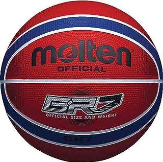 MOLTEN bgr série colorés Intérieur / Extérieur Rouge/bleu 12 Panneau nylon Basketball NOUVEAU