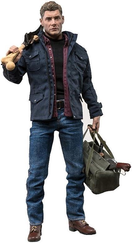 1//6 Supernatural Dean Winchester Figure USA QMX Toys Hot Action Sam