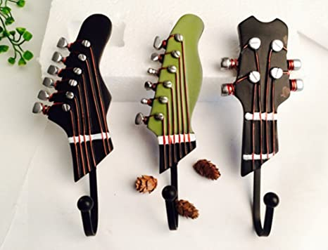 skyseen 3pcs guitarra forma Vintage resina decorativa ...