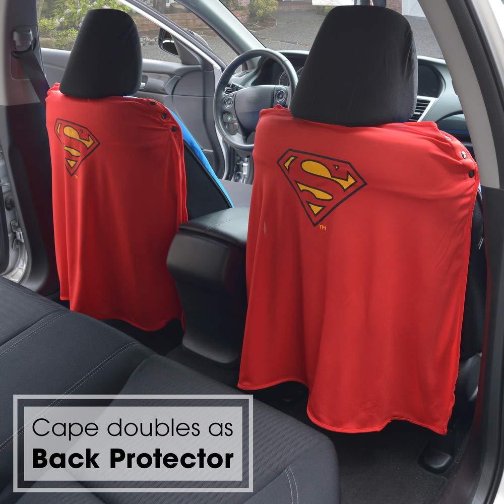 Amazon Superhero Seat Covers With Detachable Cape Backing