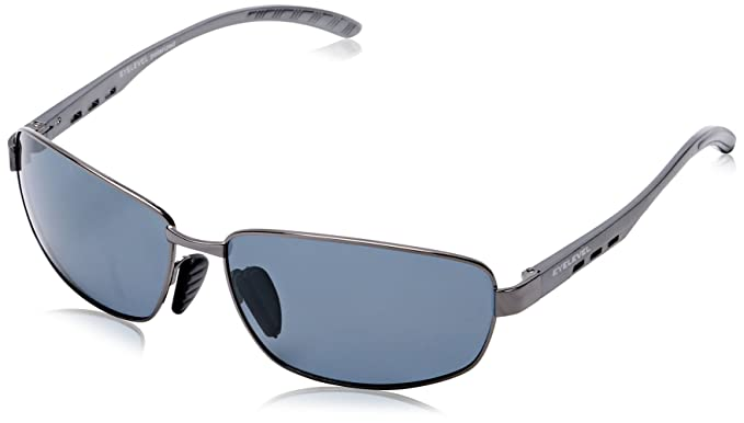 Eyelevel - Occhiali da Sole, uomo, argento (Silver (Gunmetal)), Taglia unica