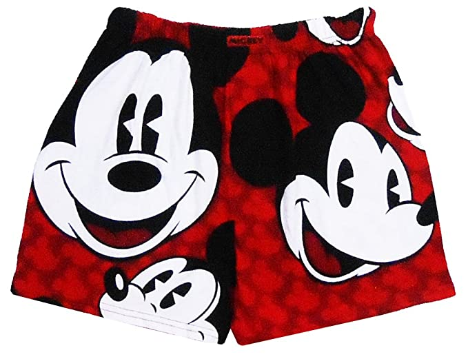 81ad5445592b8 Disney Mens All Over Mickey Mouse Boxers Red at Amazon Men's ...