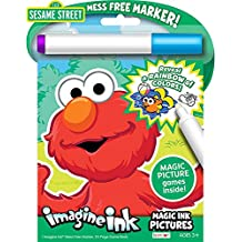 Sesame Street Imagine Ink Magic Pictures Activity Book
