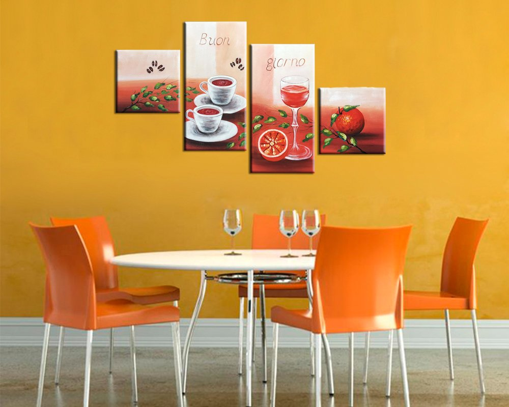 Lovely Contemporary Wall Decor For Dining Room Pictures ...