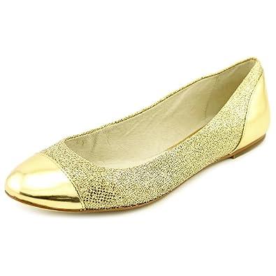 1ad29d4c7576 Michael Michael Kors Women s Shala Ballet Gold Flat ...
