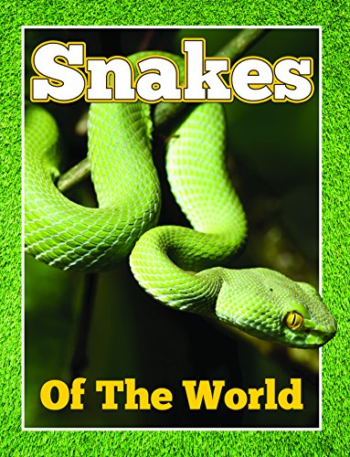 Snakes Of The World: From Pythons to Black Mamba (Awesome Kids Educational Books)
