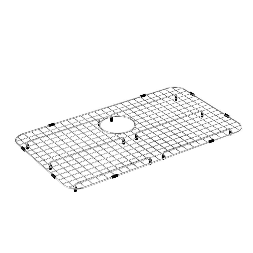 Moen GA771 Stainless Steel Rear Drain Bottom Grid Sink Accessory 28-Inch X 16-Inch, Stainless by Moen