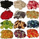 2000 Flower Petals + 500 Free-bulk Lot-diy Flower Hair Clips