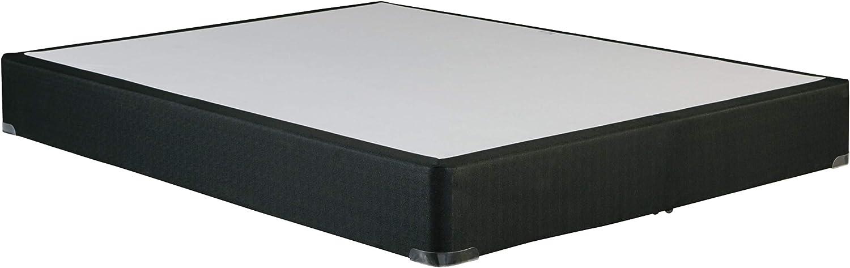 Ashley Furniture Signature Design - Foundation - Nonskid Top - Solid Wood Construction - Full Size Foundation - Black
