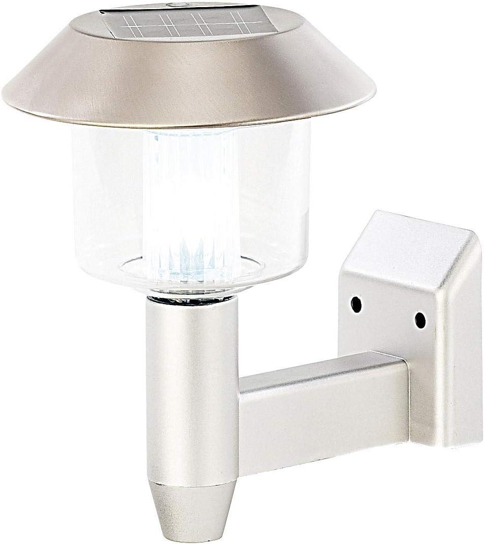 Lampadaire de jardin solaire /à LED mural Lunartec