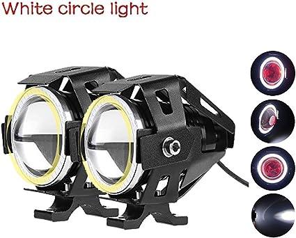 uni-balance CREE 2pcs u7 motocicleta Faro LED impermeable LED de ...