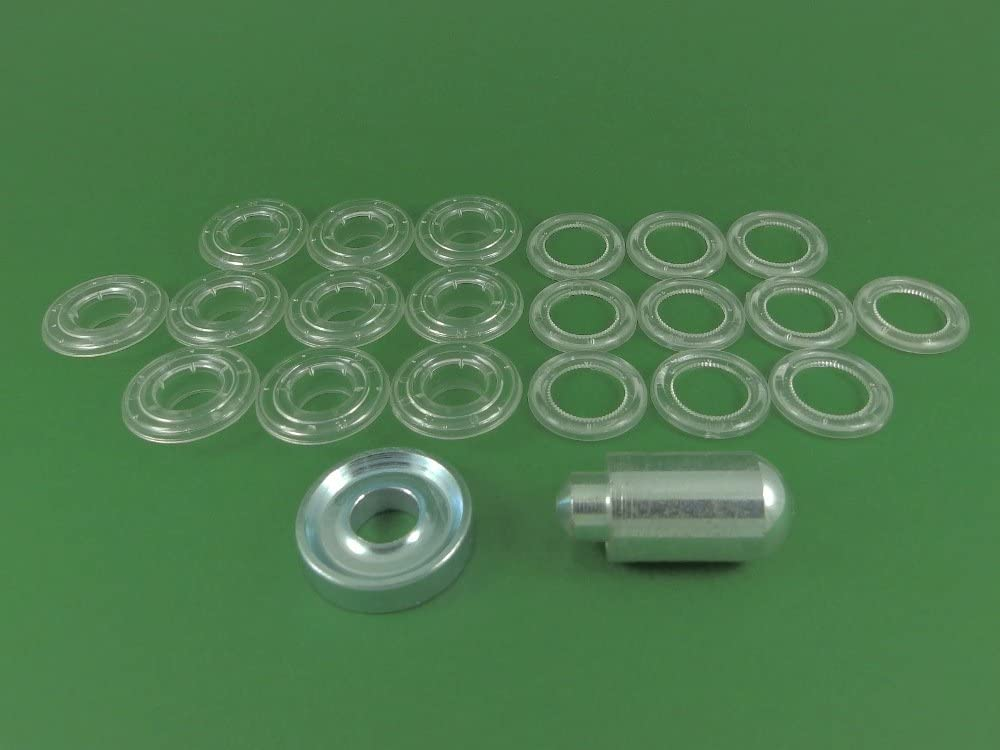 Eyelets 12mm Plastic Eyelets 100 pack free delivery