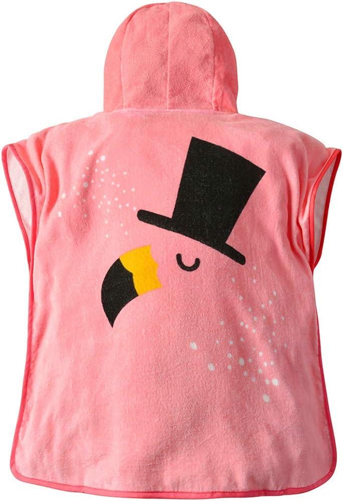 27.5 x 55 Poncho Towel Swim Coverup Robe for Boys Girls 3-8 Years Cotton Gogokids Toddler//Kids Hooded Beach Bath Towel