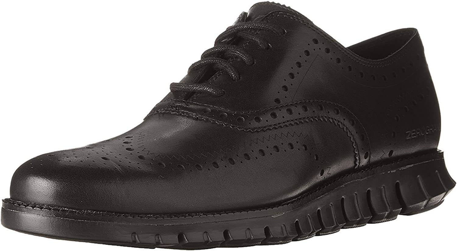 Zerogrand Wing OX Oxford Leather Shoes