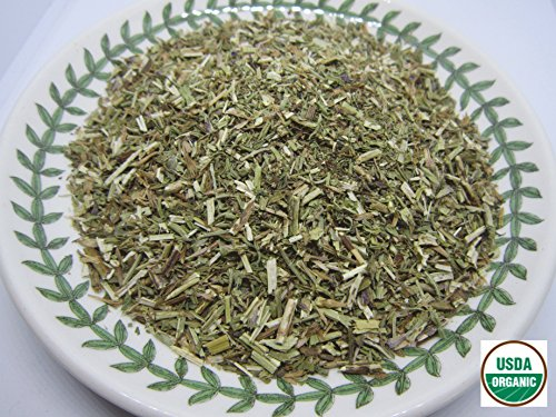 - Organic Hyssop - Hyssopus officinalis Loose Leaf c/s 100% from Nature (4 oz)