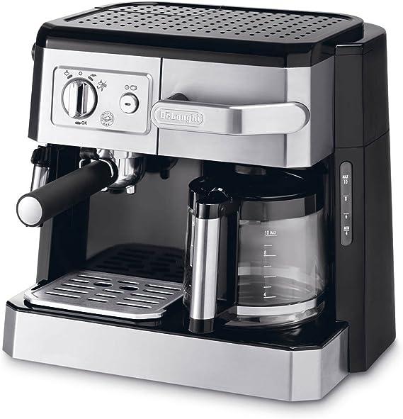 DeLonghi BCO 420 - Cafetera (Gris, Goteo, De café molido, 37,1 cm ...