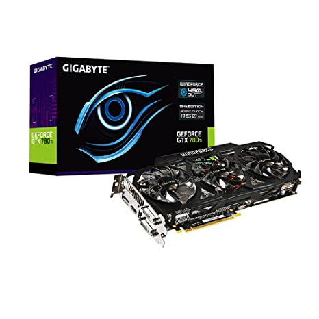 Gigabyte GV-N78T - Tarjeta gráfica con GeForce GTX 780 Ti (3 GB gddr5)