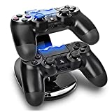 Expresstech PS4 Controller Charger Dual LED Charger Controller Docking Station for Playstation 4 PS4 PS4 Slim Pro Controller